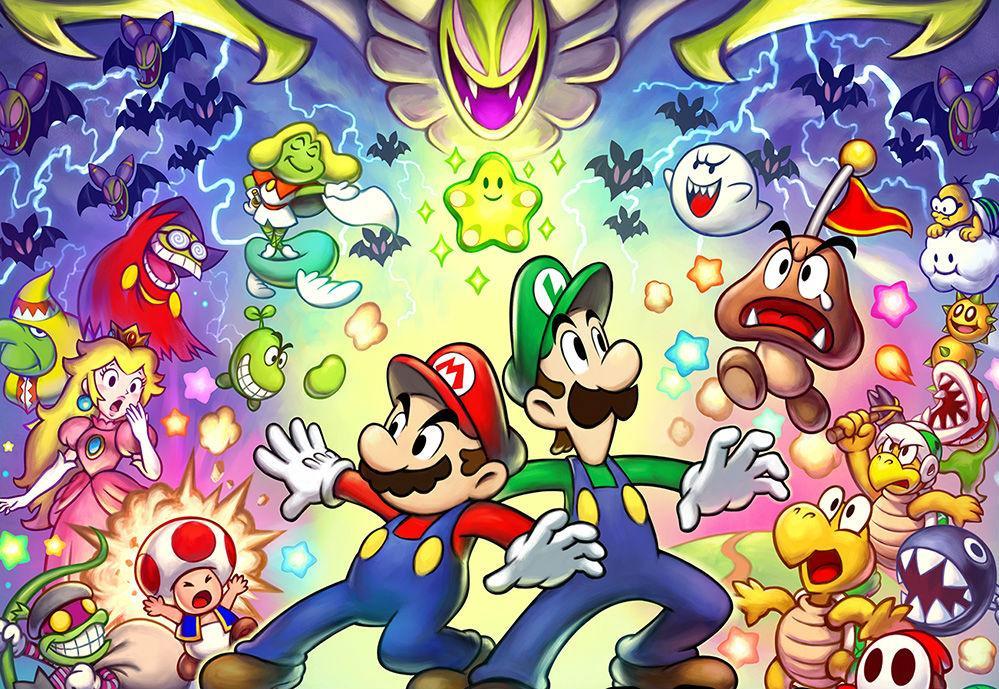 Impresiones De Mario Luigi Superstar Saga Secuaces De Bowser