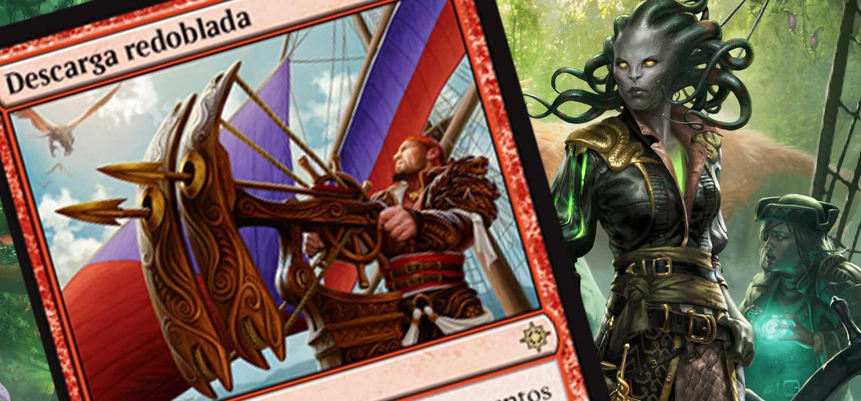 Nueva carta exclusiva de Magic: Ixalan - Descarga Redoblada