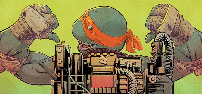 Review de Cazafantasmas - Tortugas Ninja, el crossover que quieres leer