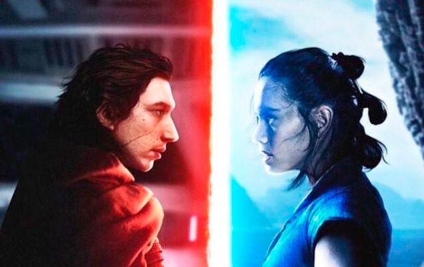 Los últimos Jedi: Kylo y Rey