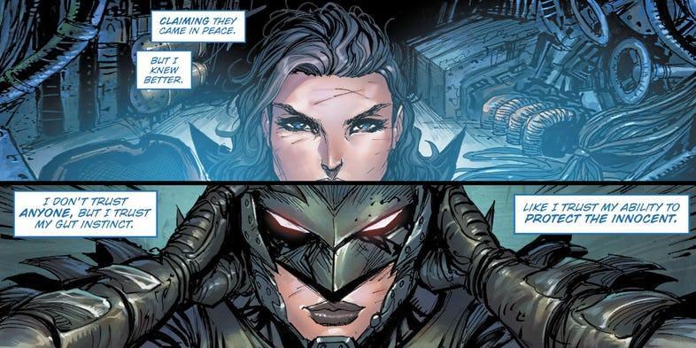 Bryce Wayne, la nueva versión femenina de Batman