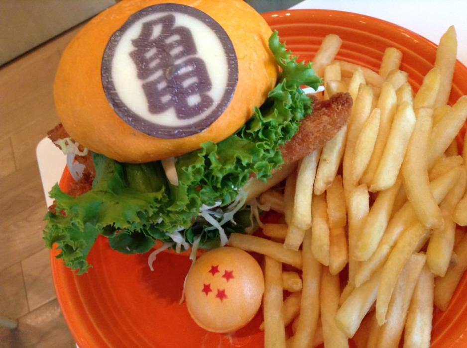 Dragon Ball Burgers