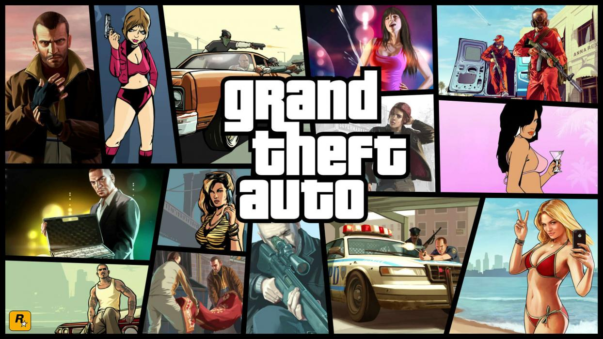 Grand Theft Auto On Vita : De grand theft auto a gta v años revolucionando el