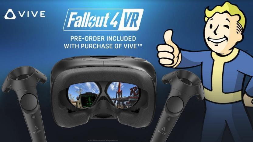 HTC Vive y Fallout 4