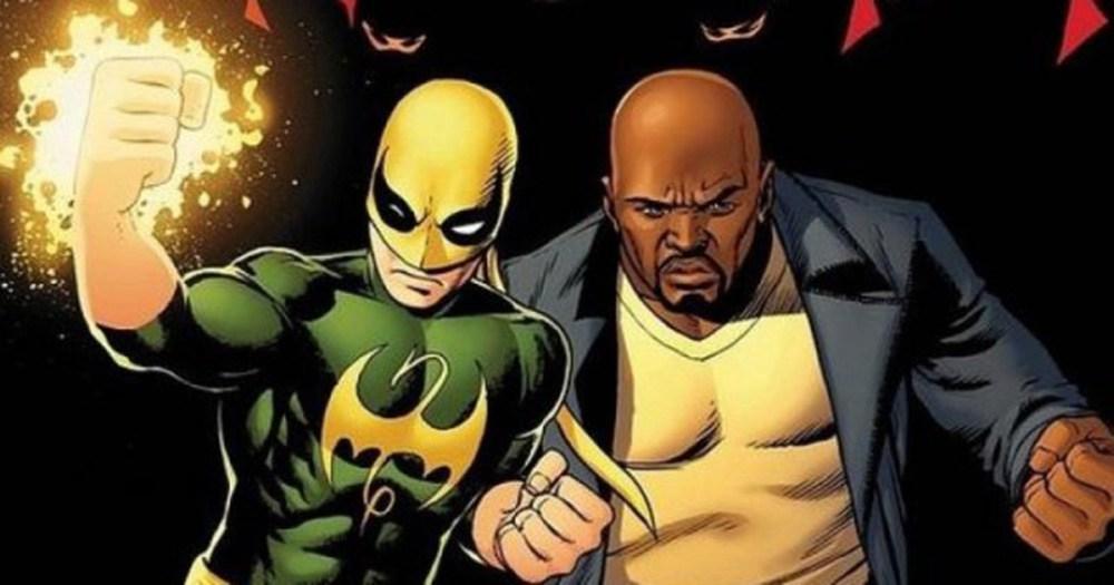 Luke Cage y su compañero Iron Fist