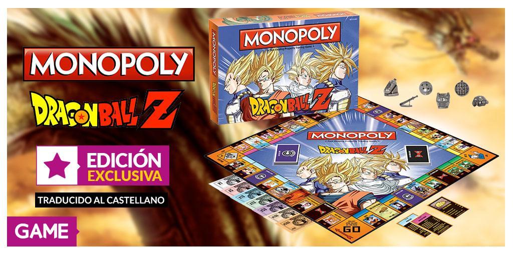 Monopoly Dragon Ball Z GAME