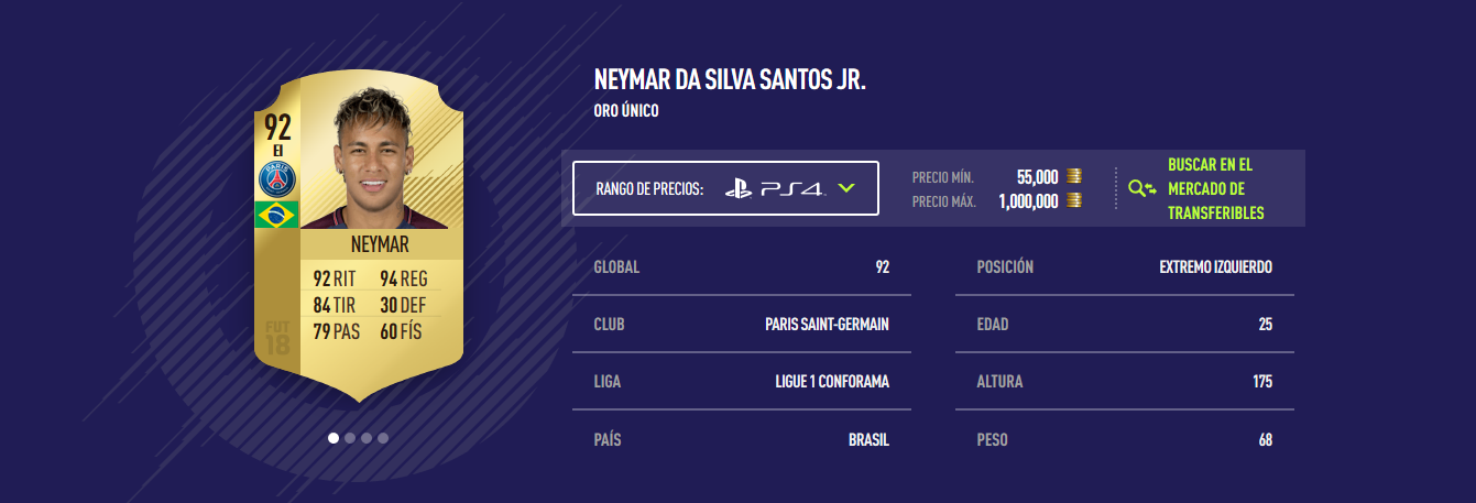 FIFA 18 - Neymar