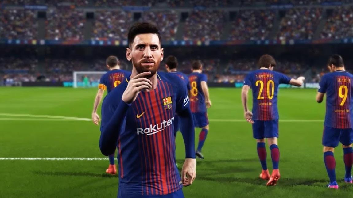 PES 2018 Messi