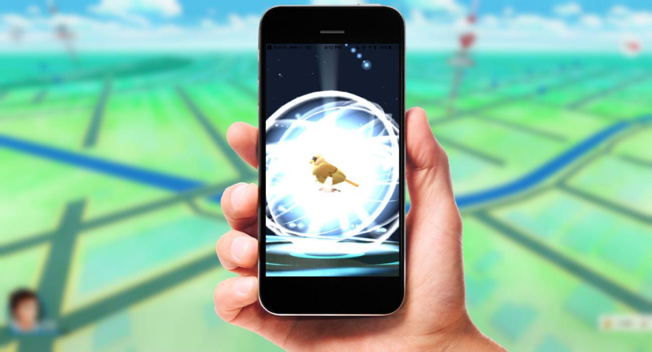 Pokémon GO evolucionando