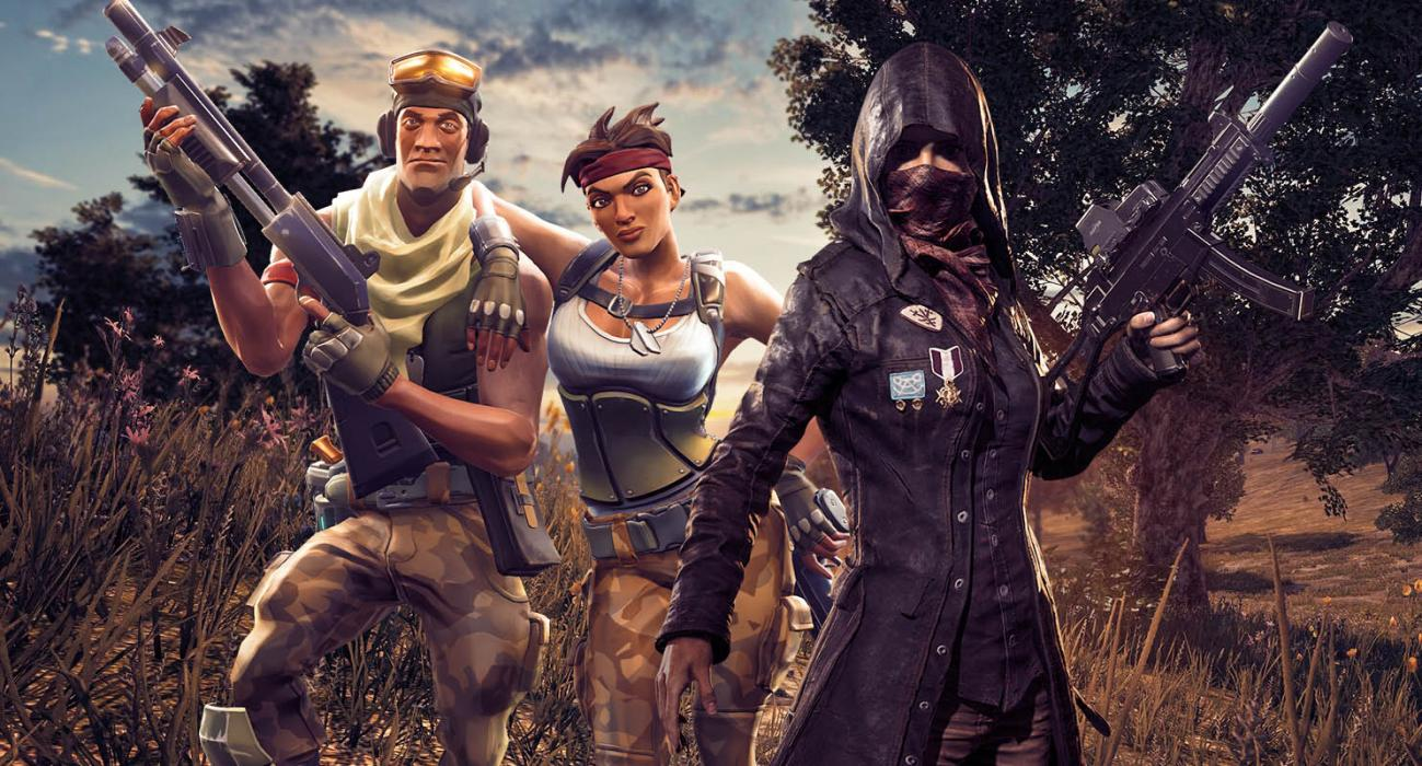 PlayerUnknown's Battlegrounds Fortnite