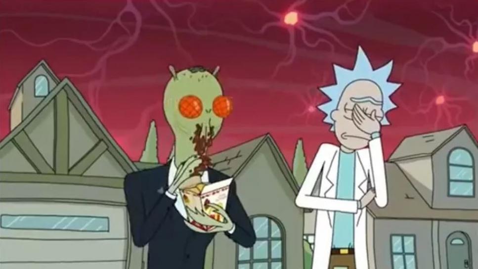 Rick y Morty salsa Szechuan