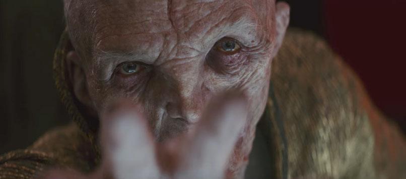 Snoke Los últimos Jedi