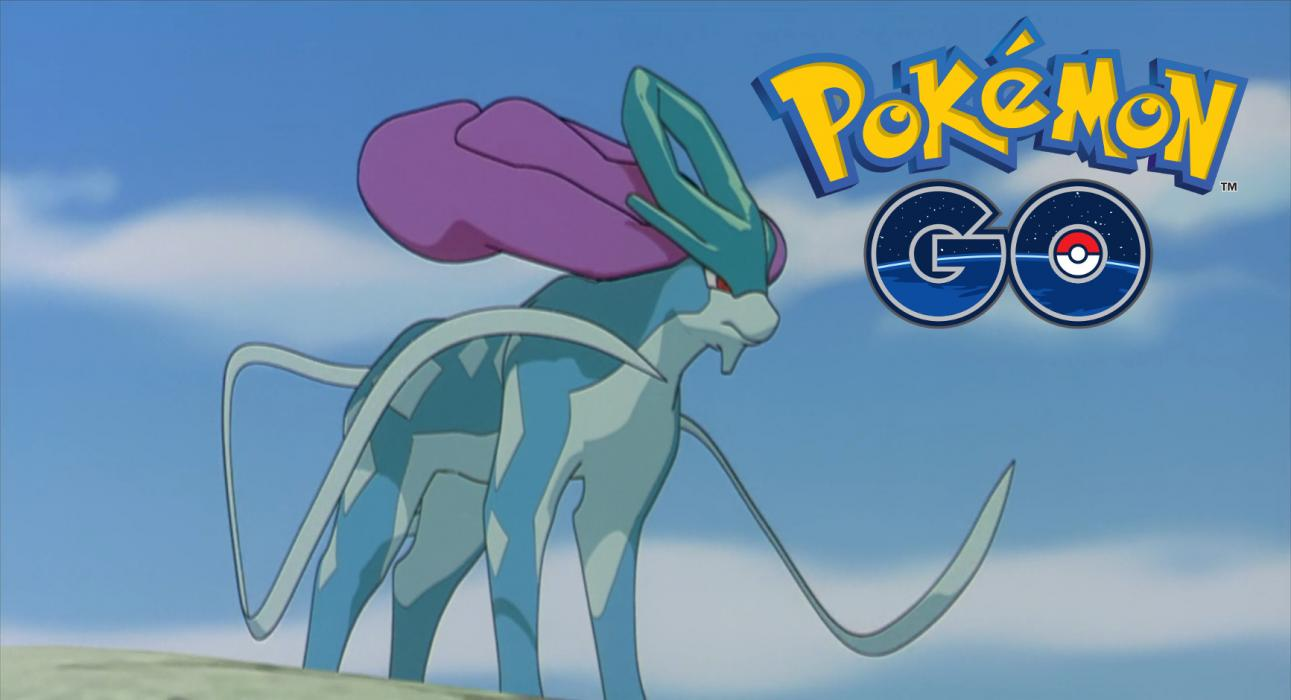 Suicune Pokémon GO