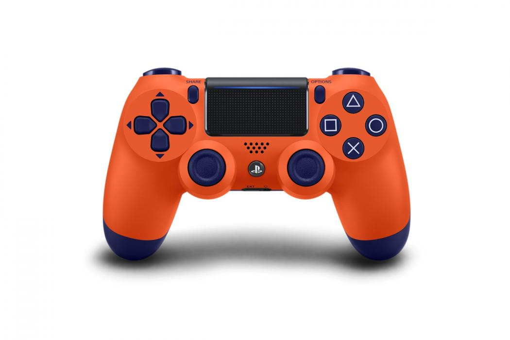 Sunset Orange DualShock 4