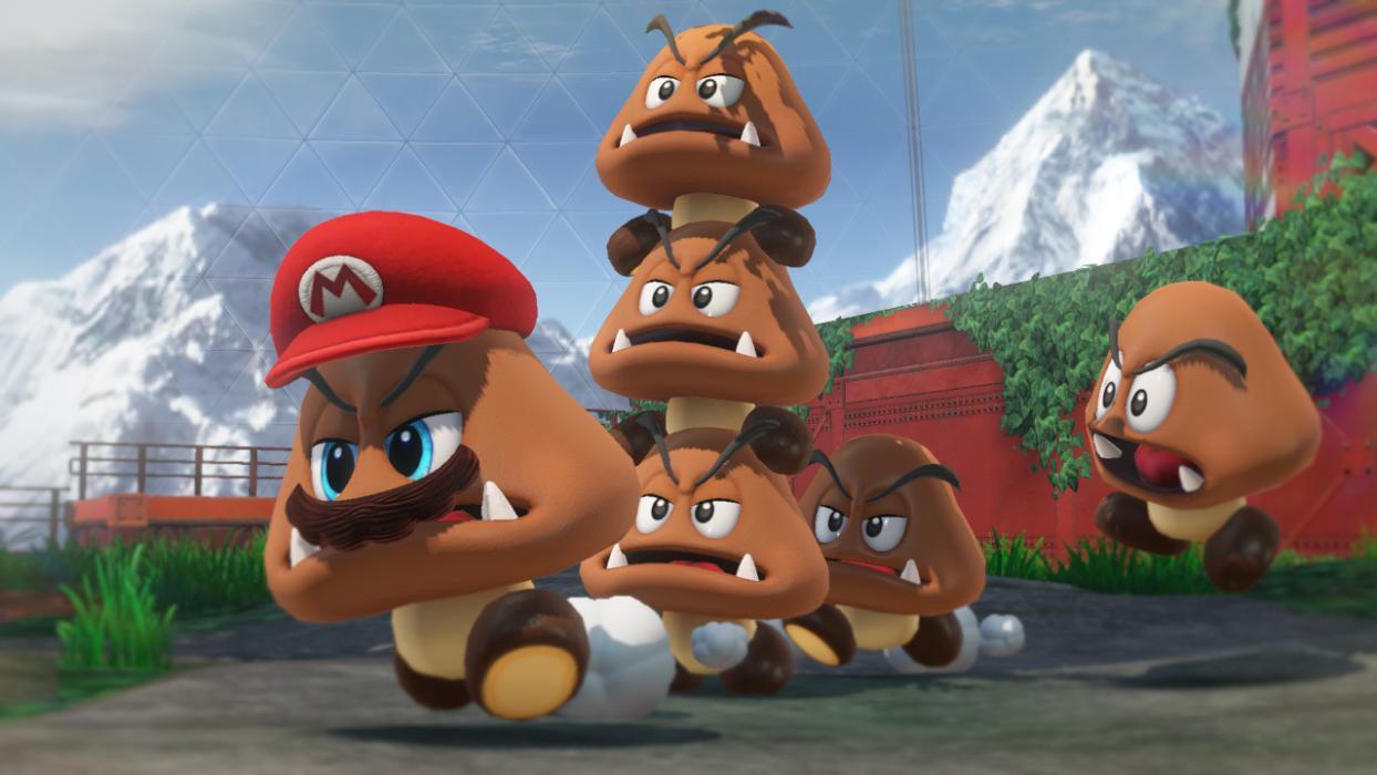Super Mario Odyssey Goombette