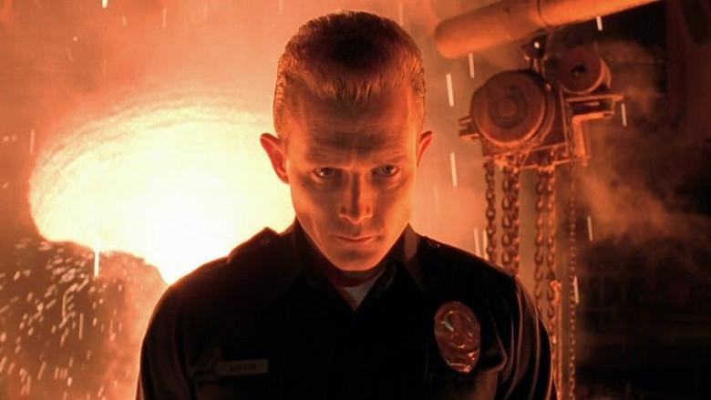 Terminator 2, T-1000, fundición