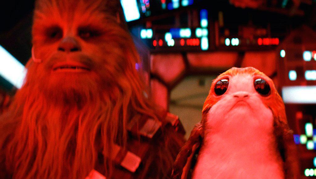 Los últimos Jedi Porgs