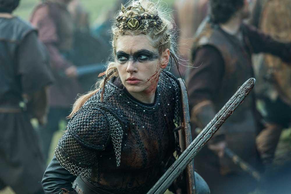 Lagherta en la serie Vikings