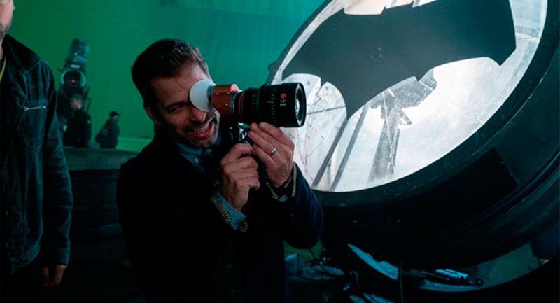 Zack Snyder rueda Liga de la Justicia
