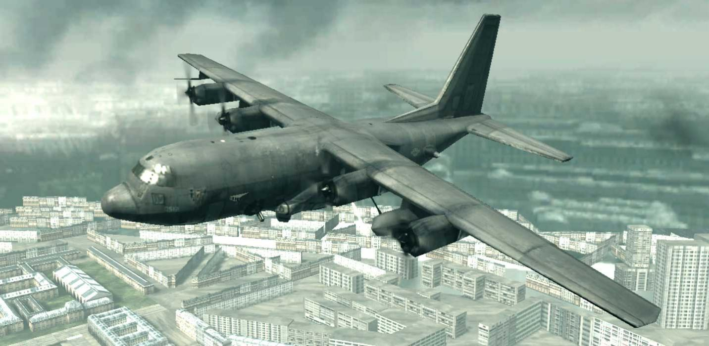 AC 130 call of duty