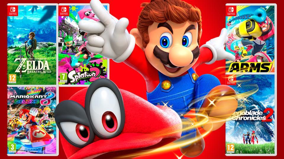 Concurso Super Mario Odyssey