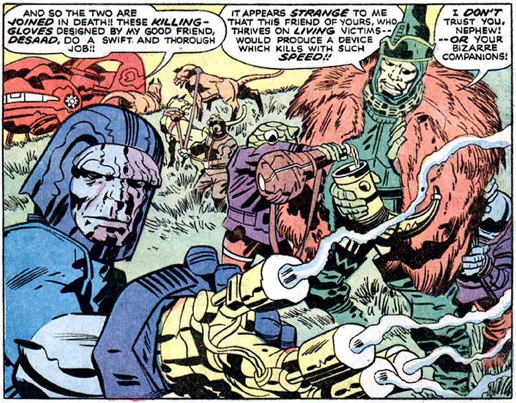Review de El Cuarto Mundo, volumen 3 - Jack Kirby siempre ...