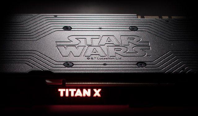 NVIDIA TITAN XP Star Wars - eSports