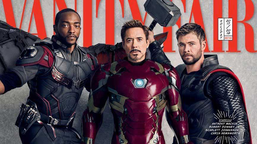 Portada Vanity Fair Vengadores: Infinity War