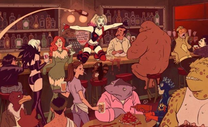Primera imagen de la serie de Harley Quinn