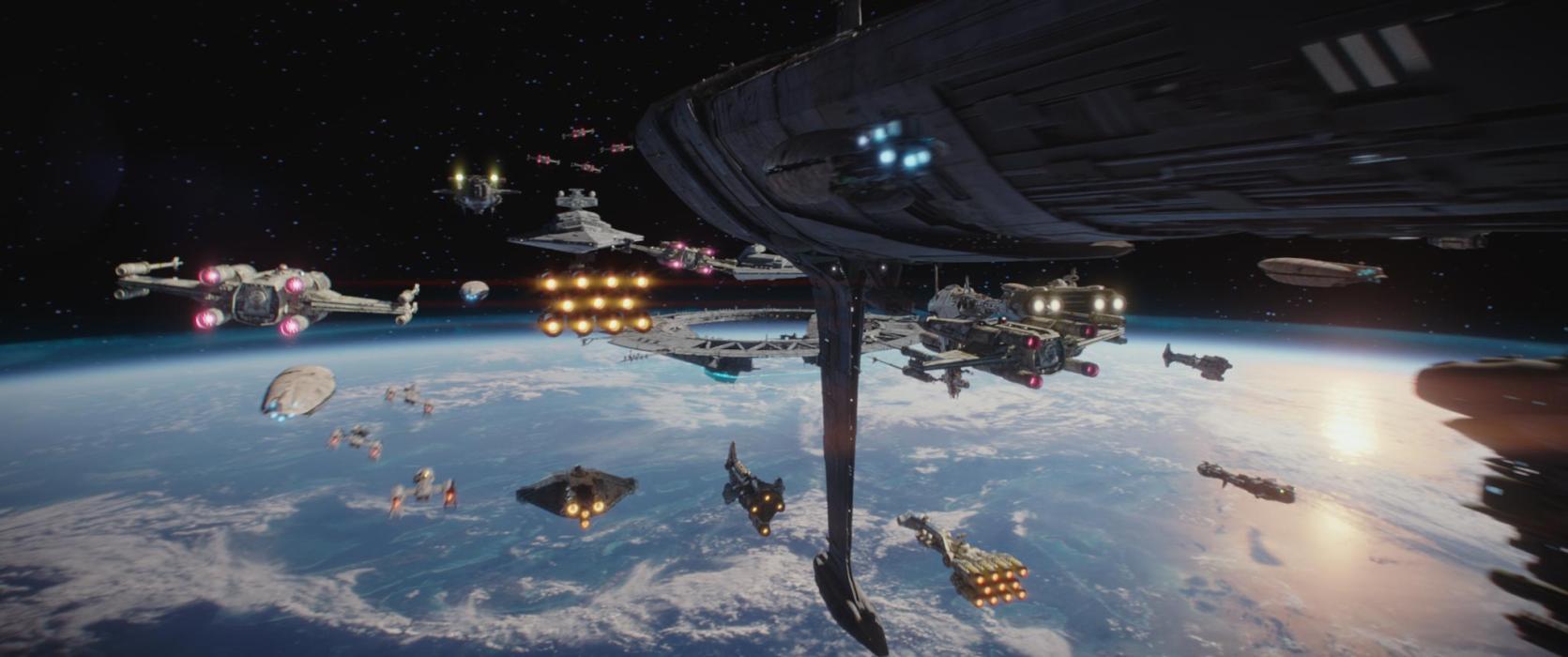 Star Wars batle of Scarif