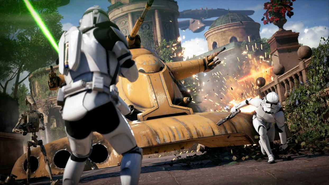 Star Wars Battlefront 2 Asalto Galáctico