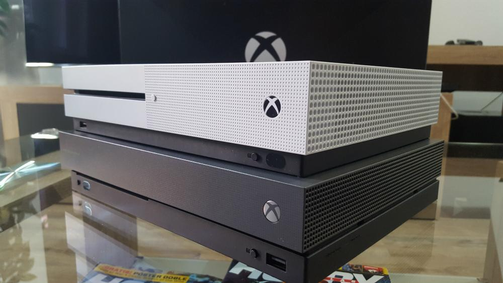 Xbox One Vs Xbox One S : Xbox one supera a ps y nintendo switch en ventas con el