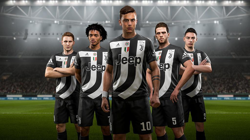 4 equipacion Juventus