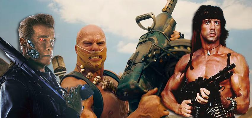 armas cine de acción