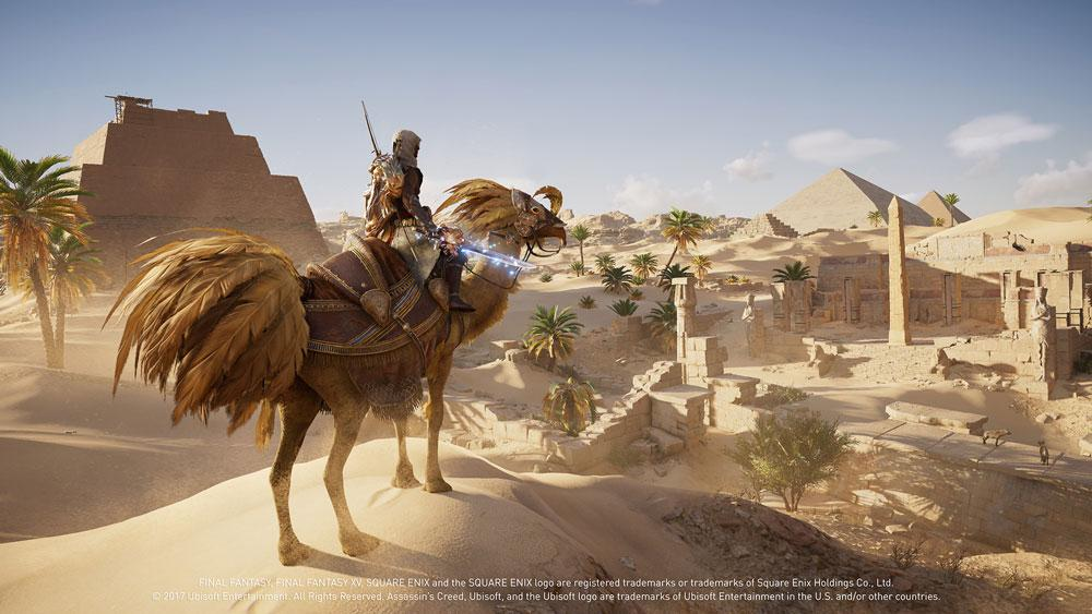 Assassin's Creed Origins Final Fantasy