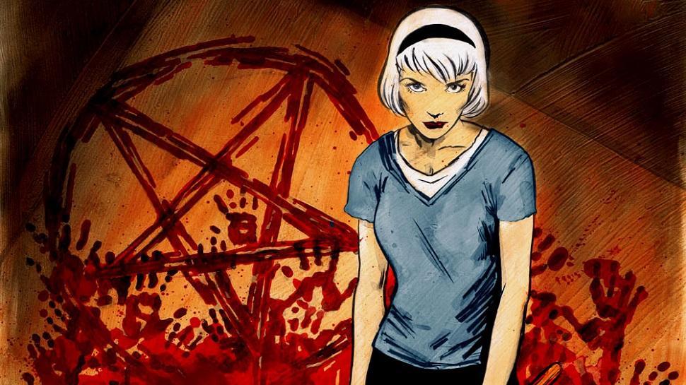 Comic, terror, bruja