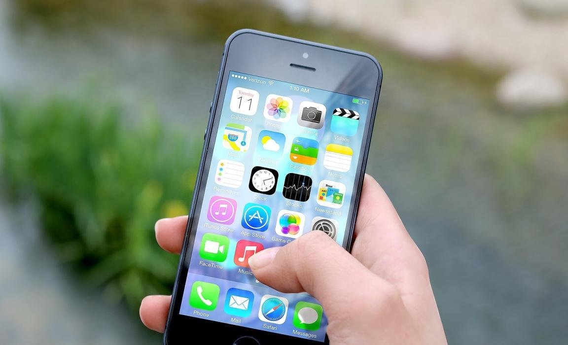 cobertura de un móvil iphone