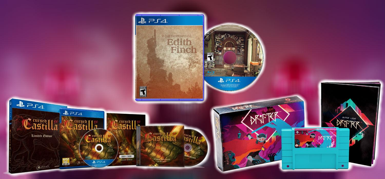 Ediciones Fisicas Limitadas De Los Mejores Juegos Indie