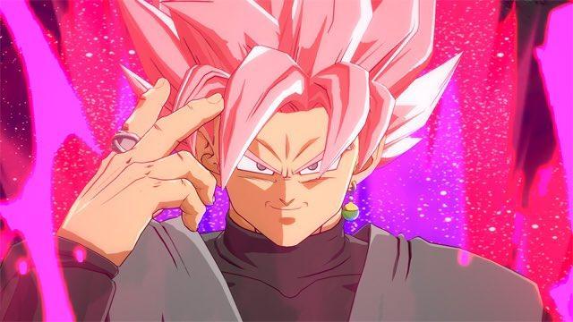 Goku Black en Dragon Ball FighterZ