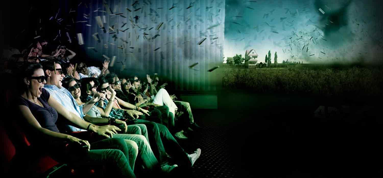 Kin polis lanza la primera sala 4dx de espa a y la hemos for Sala 4dx opiniones