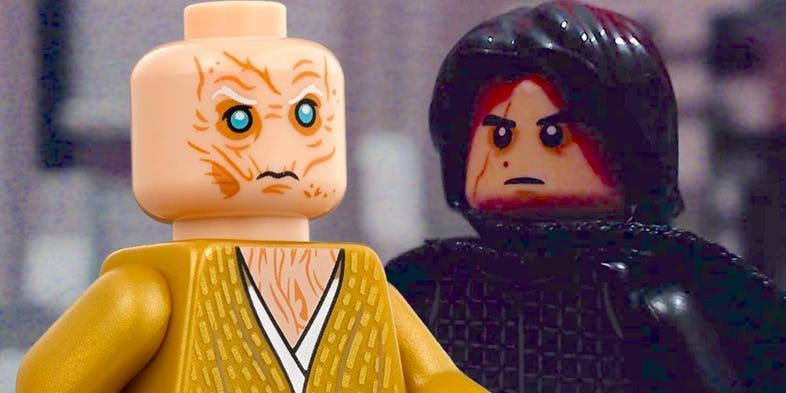 LEGO los últimos Jedi