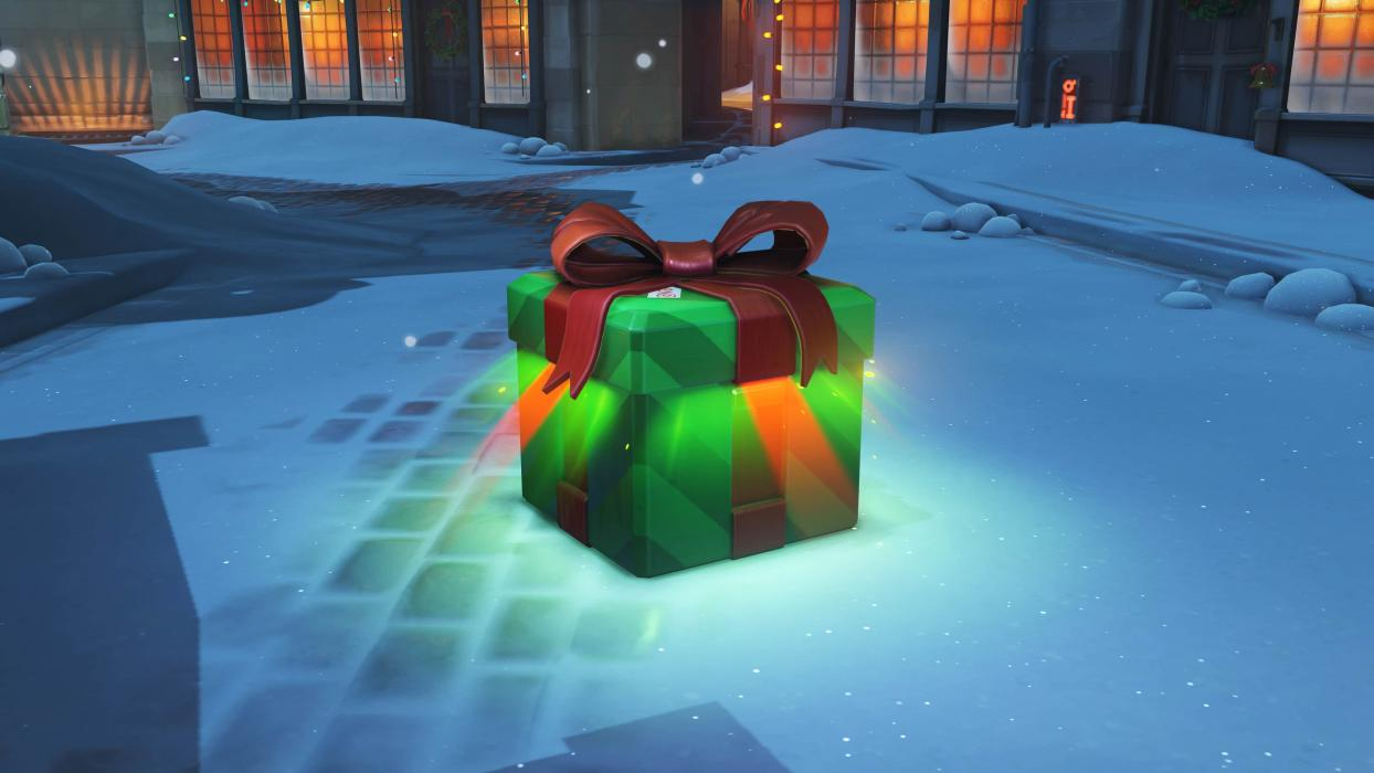 Overwatch Winter Wonderland Loot Box