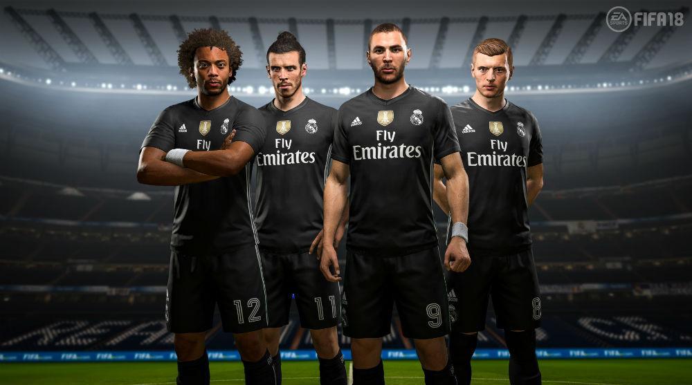 Real Madrid 4 equipación