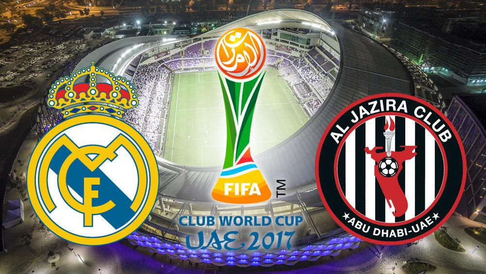 Real Madrid vs Al Jazira Mundial de Clubes 2017 de fútbol