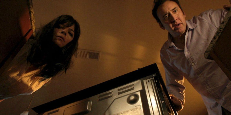 Selma Blair y Nicholas Cage
