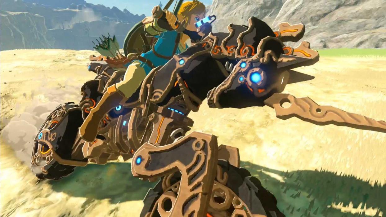 Zelda La Balada de los Elegidos moto