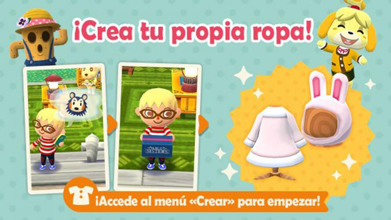 Animal Crossing Pocket Camp ropa