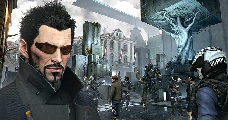 Listado con los códigos de pirateo de Deus Ex Mankind Divided
