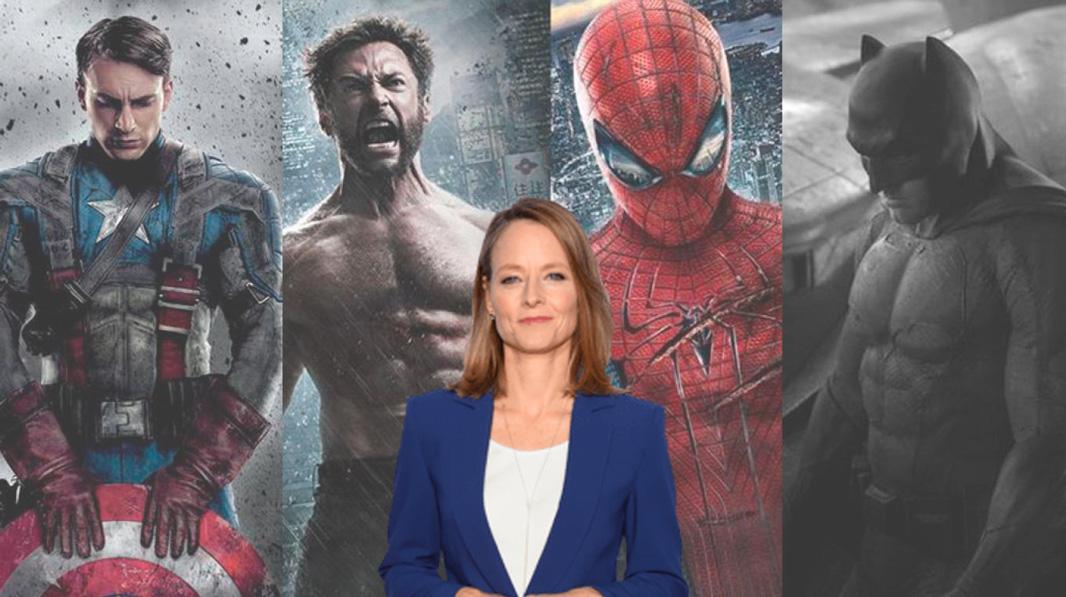 Jodie Foster y el cine de superhéroes
