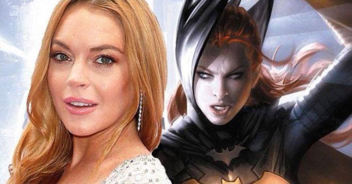 Lindsay Lohan Batgirl